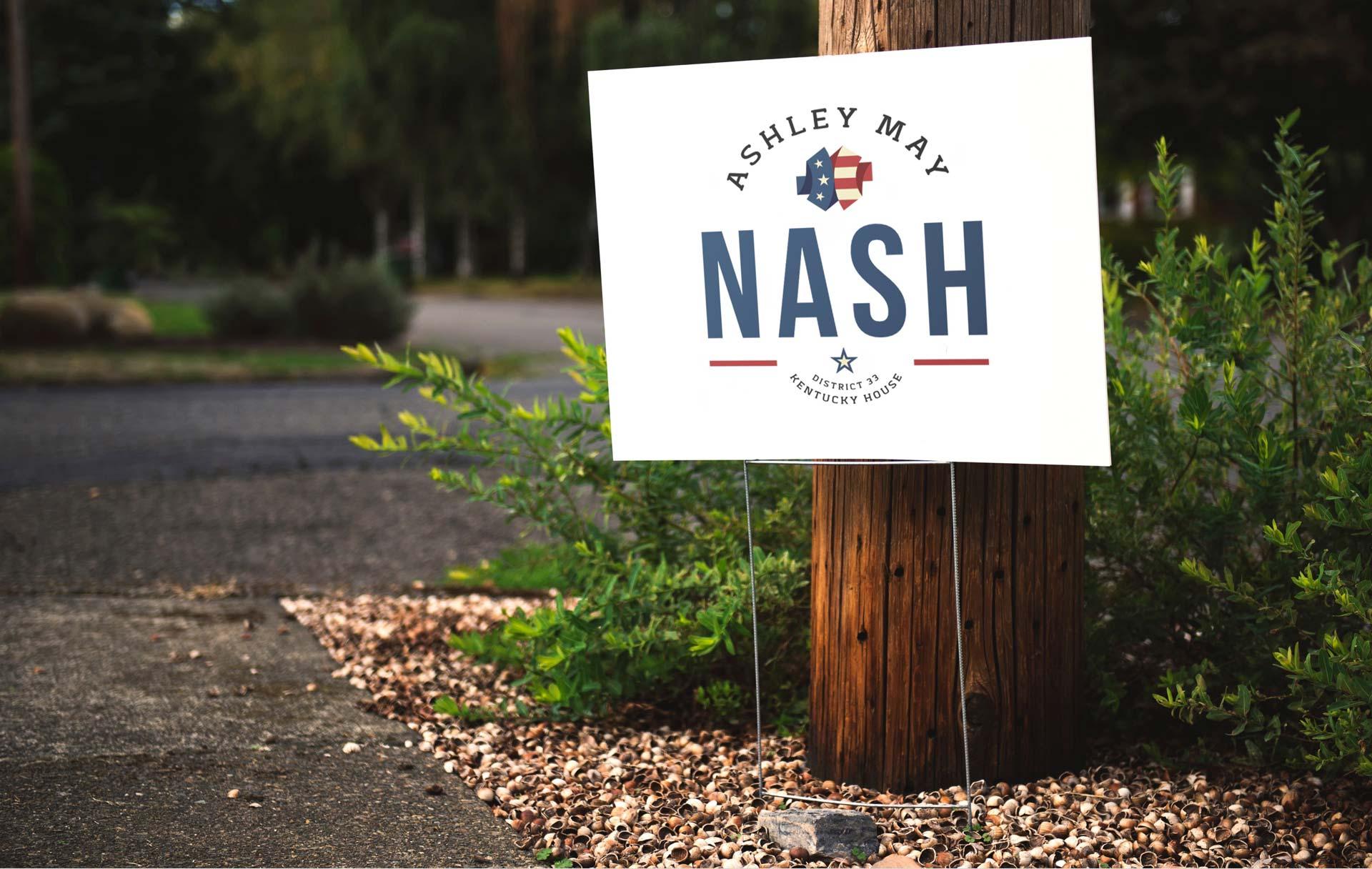 Ashley May Nash Sign Concept