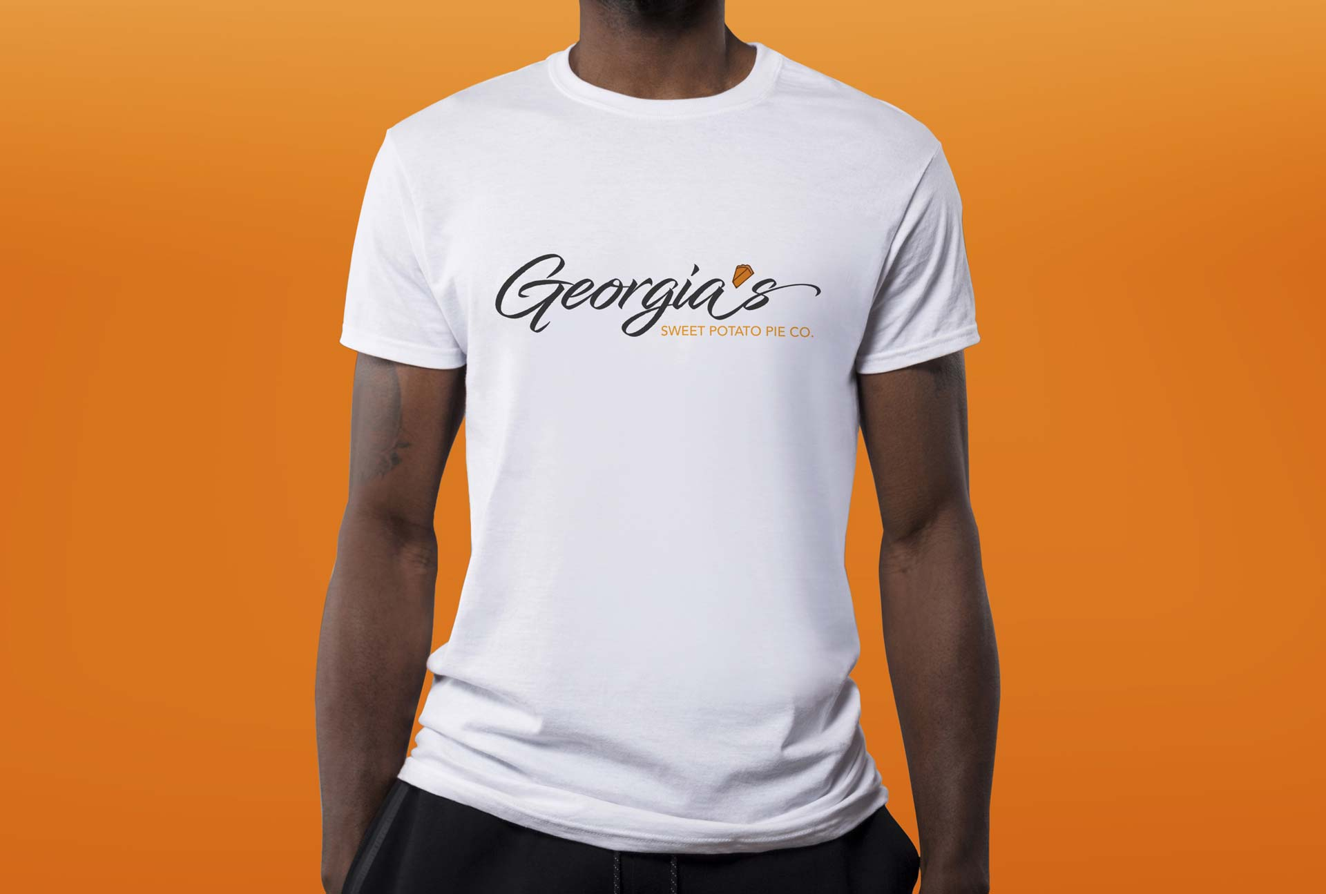 Georgia's Sweet Potato Pie Co. Shirt Concept