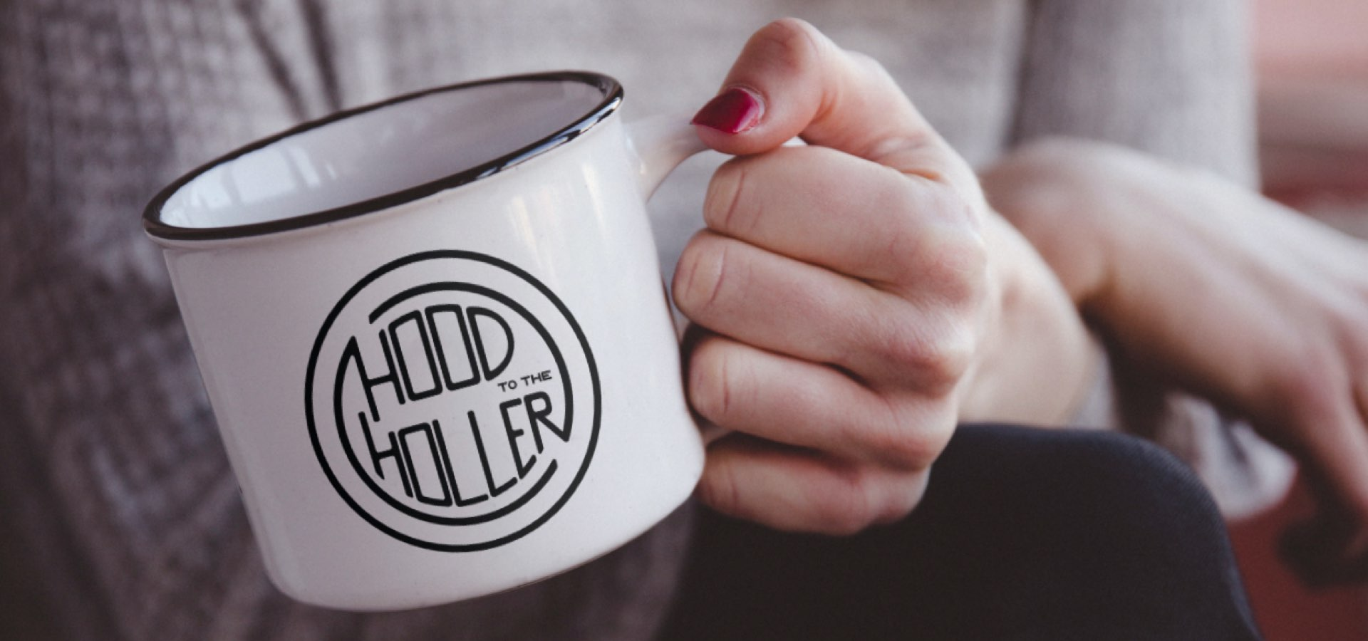 Hood to the Holler mug
