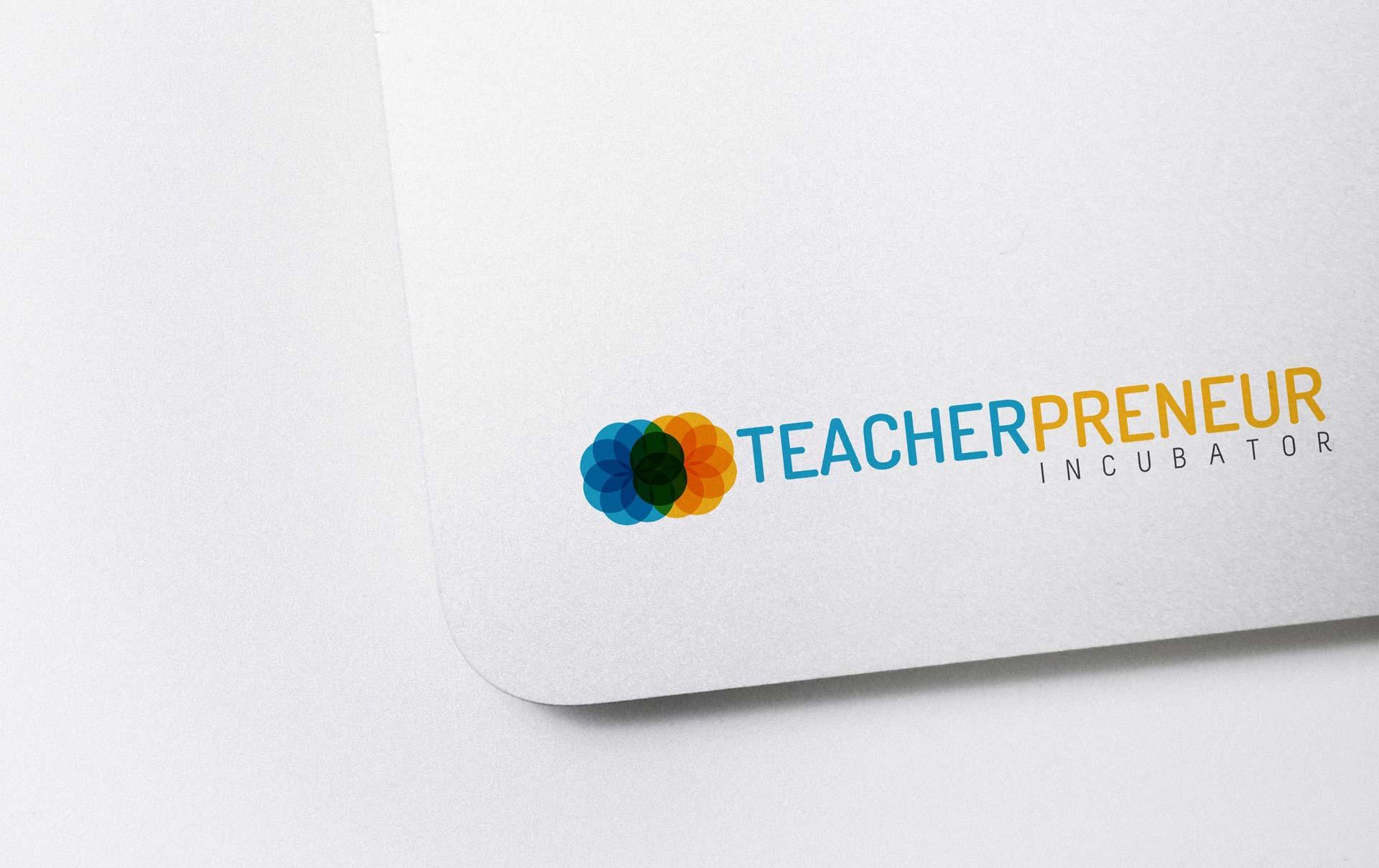 Teacherpreneur Sticker Concept